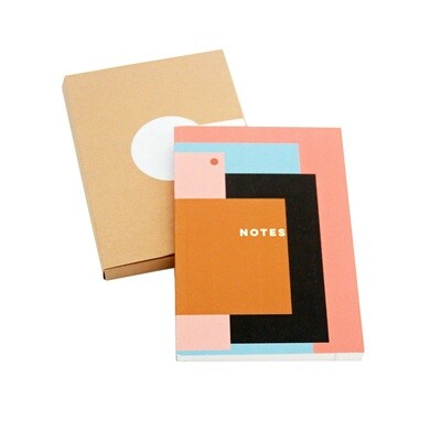 Pink Layers Pocket Notebook