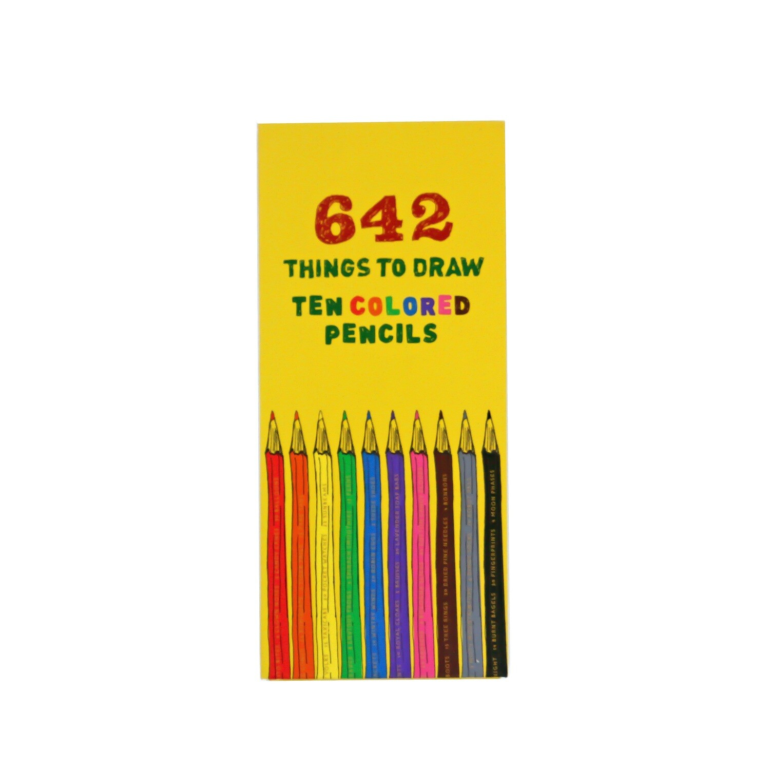642 To Draw Color Pencils