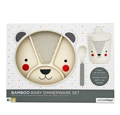 Bear Bamboo Dinnerware