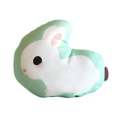 White Rabbit Pillow
