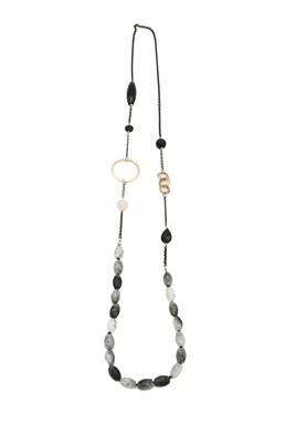 Tourmaline & Onyx Necklace