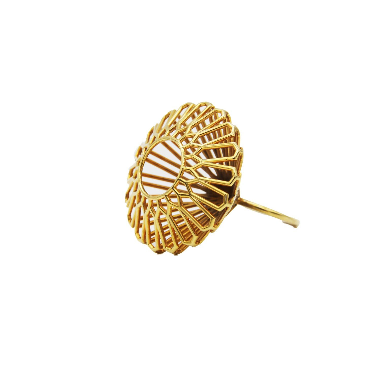 3D Printed Brass Ring