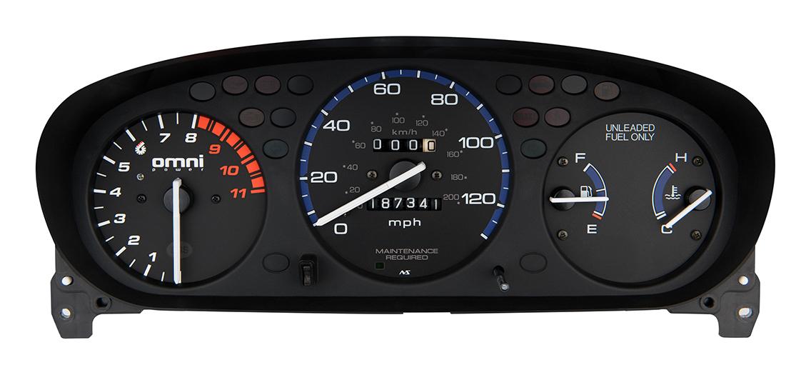 Honda EK 8000 RPM Tachometer With Adjustable Shift Light TACH-8000-EK