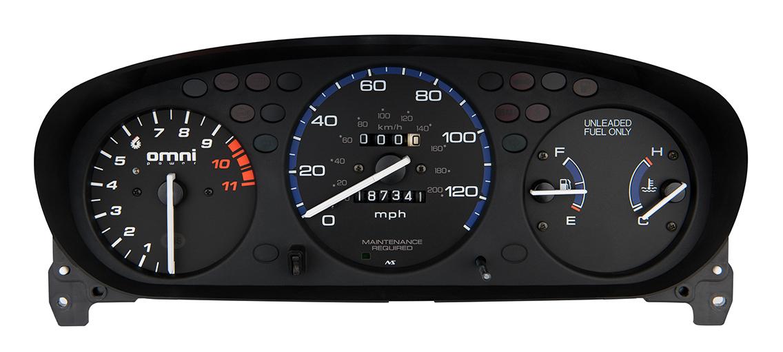 Honda EK 9500 RPM Tachometer With Adjustable Shift Light TACH-9500-EK