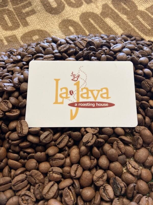 $10 LaJava Gift Card