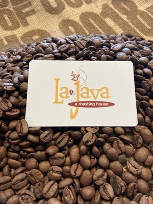$10 LaJava Gift Card