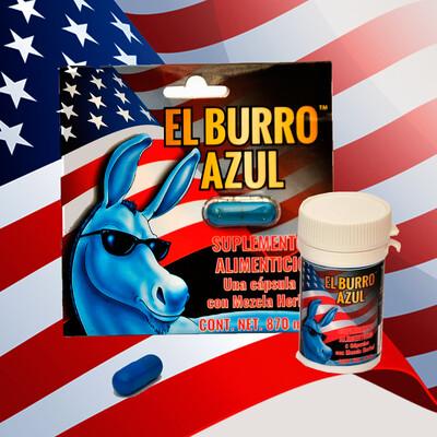 Pomo Burro Azul 5 cápsulas