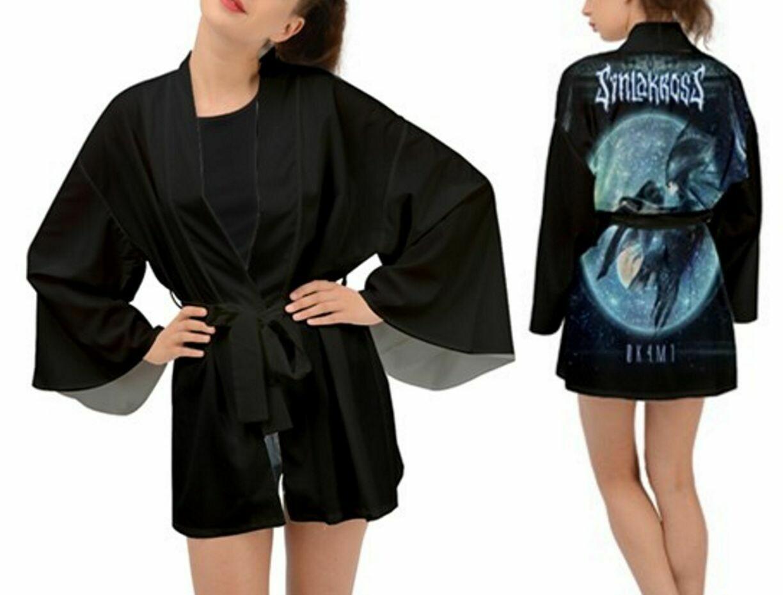 0K4M1 Unisex Long Sleeve Kimono *FREE SHIPPING