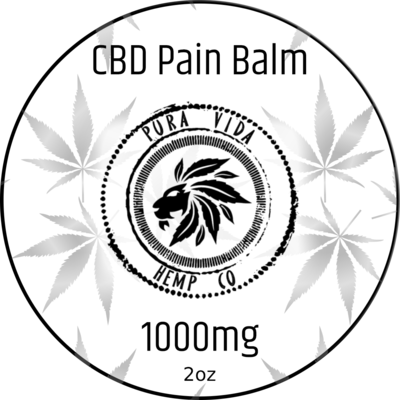 CBD Pain Relief Balm for topical use - Lab Tested - THC Free