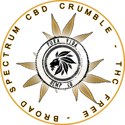 "CBD + CBG Distillate (aka ""Crumble"" ) - Lab Tested - THC Free"