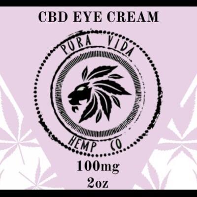 CBD Eye Creme - Lab Tested - THC Free