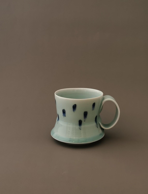 Tasse, Porzellan, Höhe 9,0 cm Durchm. 9,0 cm