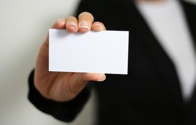 Vendor Ads - Business Card Ad