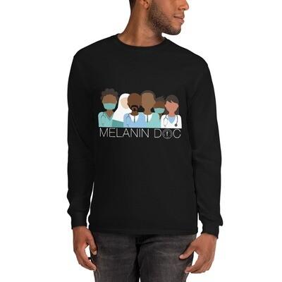 Melanin Men's Long Sleeve Shirt