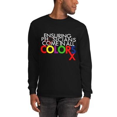 Physician color Men's Long Sleeve Shirt