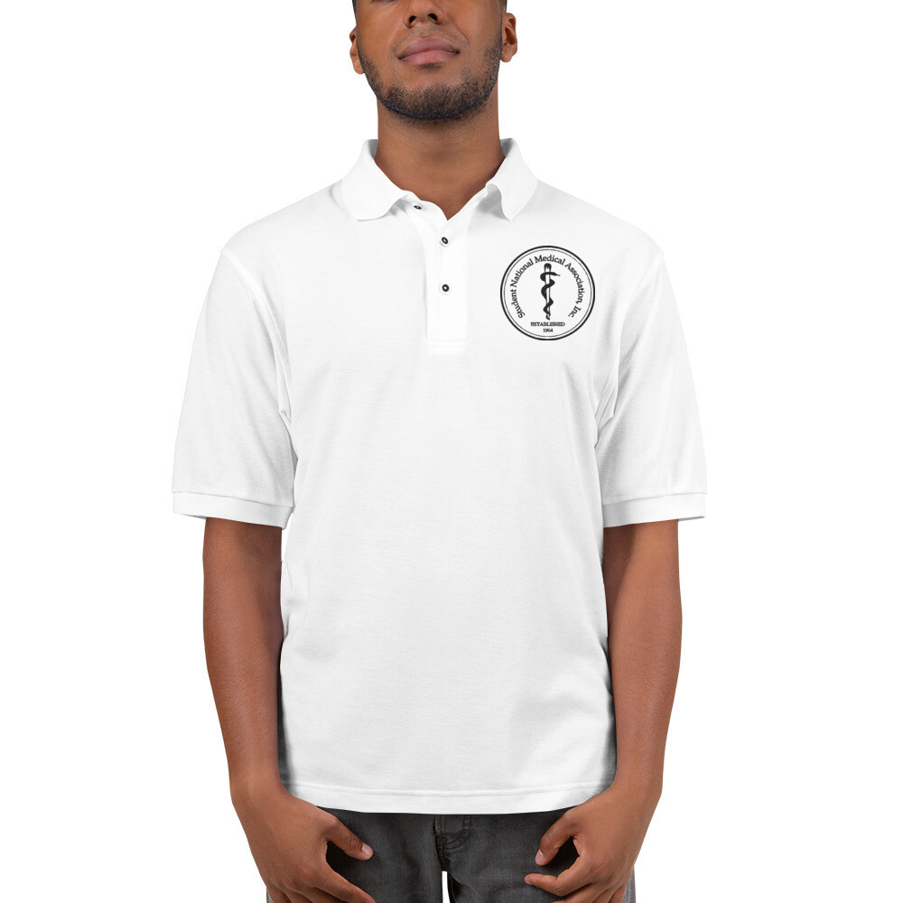 Men's Premium Polo Logo