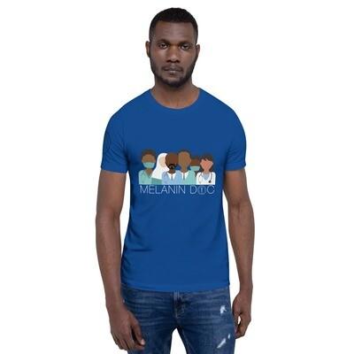 Melanin Docs Short-Sleeve Unisex T-Shirt premium