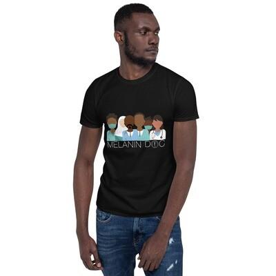 Melanin Doc Short-Sleeve Unisex T-Shirt