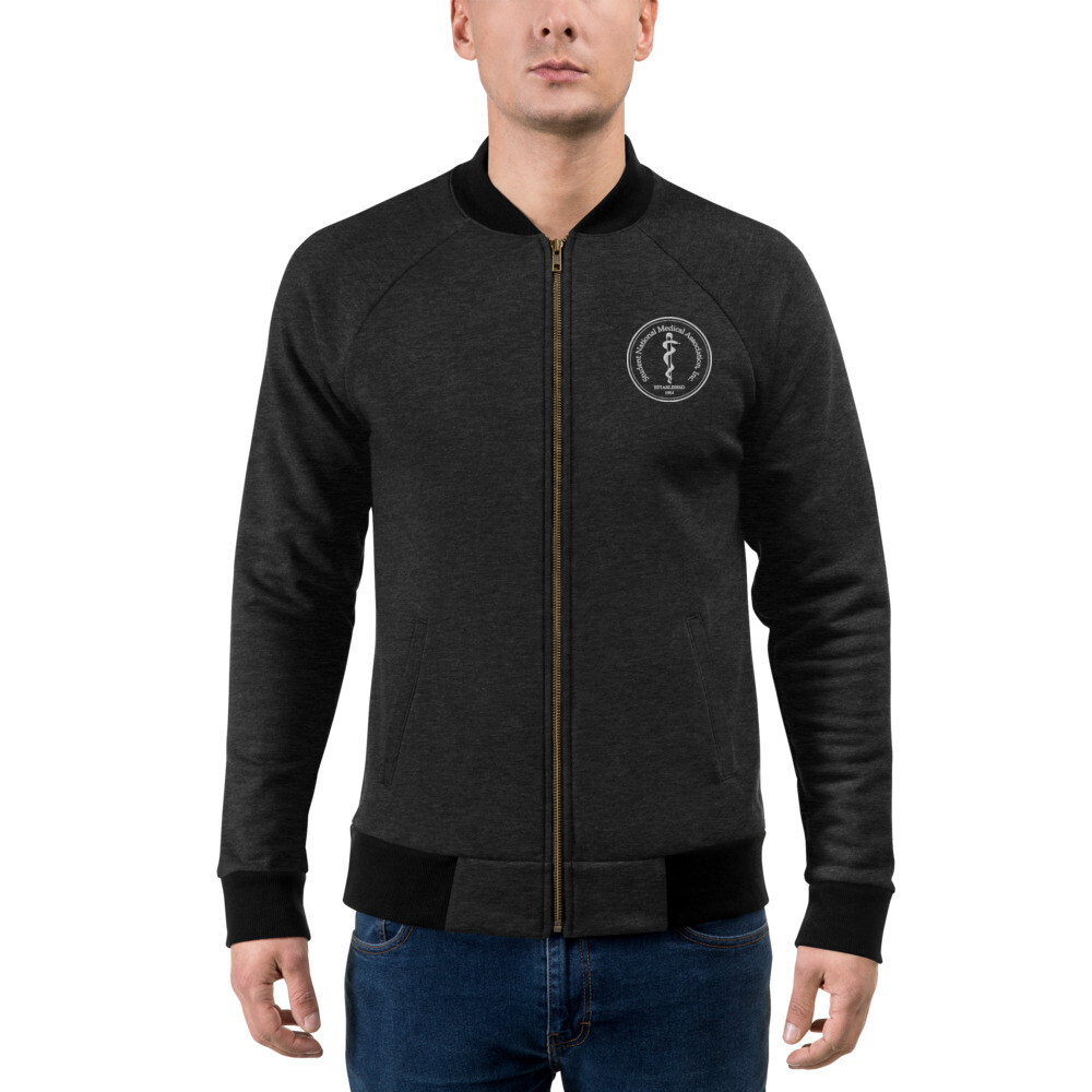 LogoW Embroidered Bomber Jacket