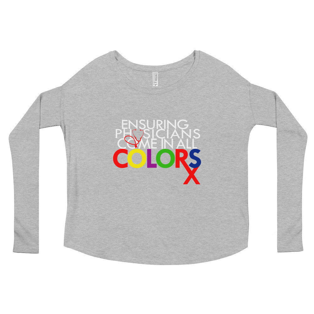 Physician Colors Ladies' Long Sleeve Tee