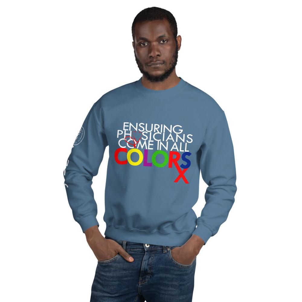 Physician colors Unisex Sweatshirt