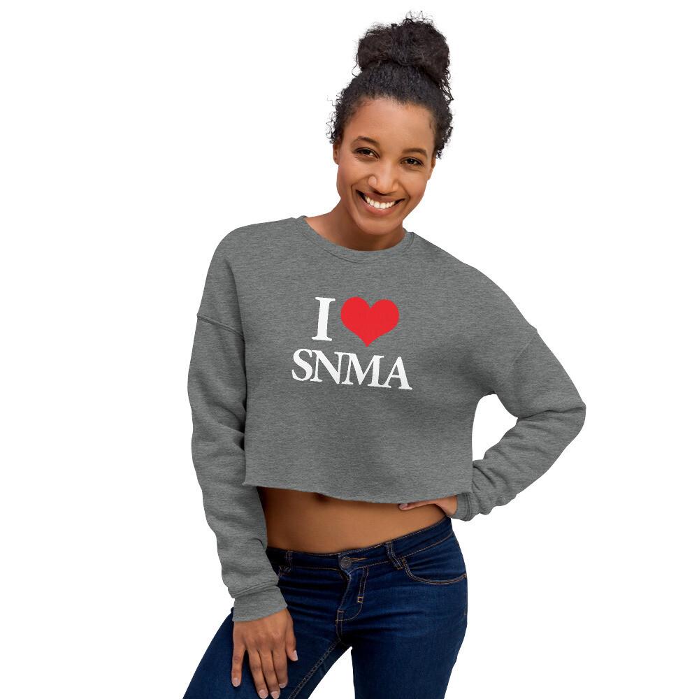 ILOVE Crop Sweatshirt
