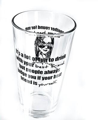 OG Kat Rybarski Pint Glass