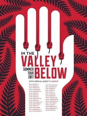 Screenprint Summer Tour 2017 Poster