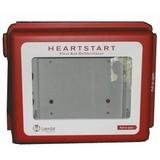 AED-alarmkast met geluids- en lichtsignaal voor opbouw