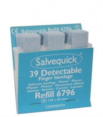 Salvequick detecteerbare vingerpleisters 6796 voordeelpak 6 ds.