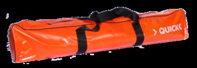 Opberghoes oranje t.b.v. dubbel opvouwbare brancard