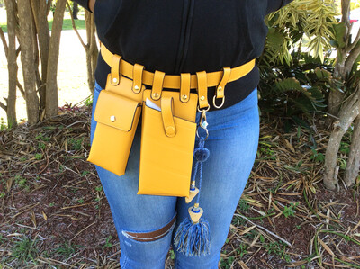 Fanny Pack- Mustard seed