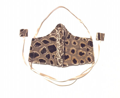 Brown 3D Leopard