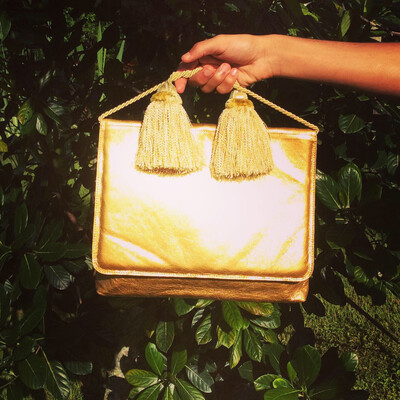 Gold Box w/Tassel Handle