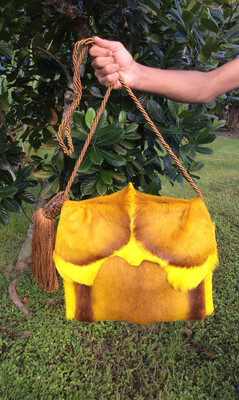 Springbok Crossbody Yellow  Handbag