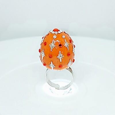 FAB-u-LUS Orange Star Ring