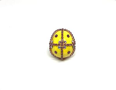 FAB-u-LUS Yellow Stud Ring