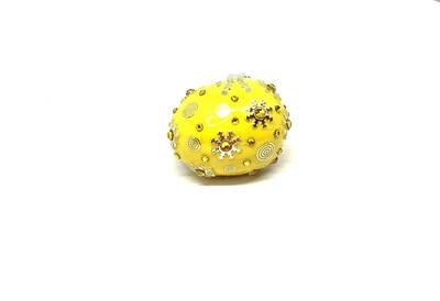 FAB-u-LUS  Yellow Drip Ring