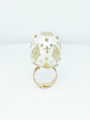 FAB-u-LUS White Glamour Ring