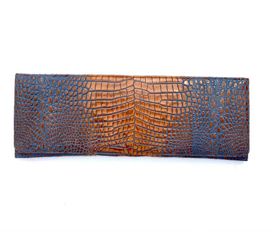 Blue and Brown (BAB) Clutch