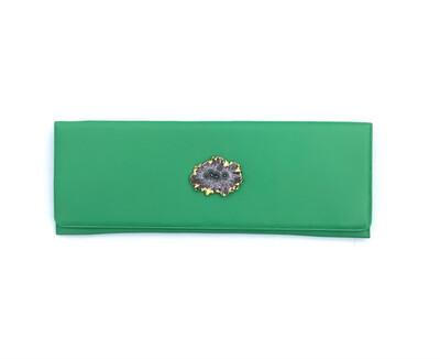 Emerald Amethyst Clutch