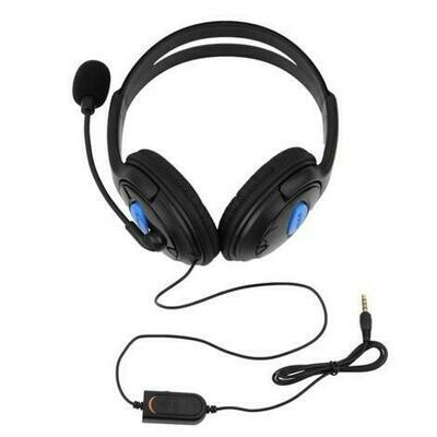 Cell World Sony ps4, computer stereo wired gaming headset with mic