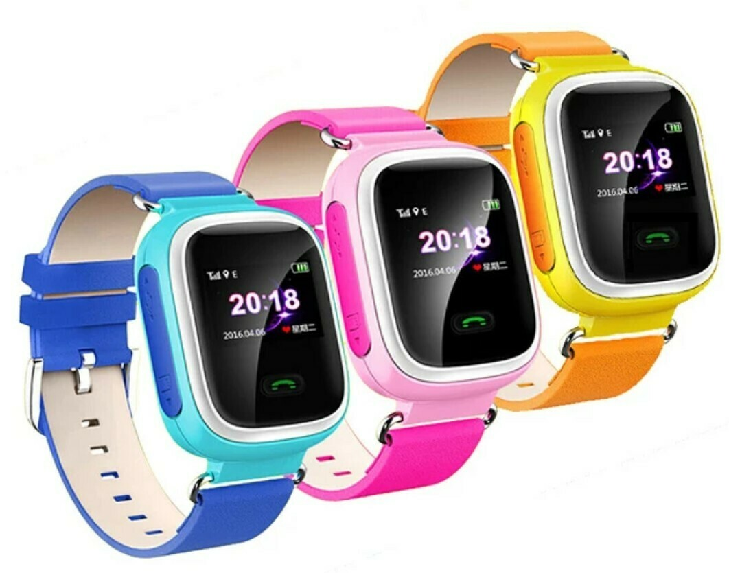 Kids Smart Watch IP67 Waterproof SOS Anti-lost LBS Location Tracker 2G SIM Card Camera