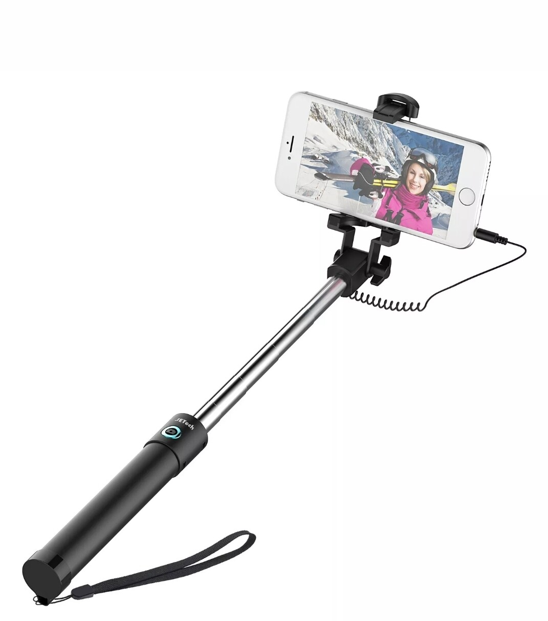 1pc universal handheld wired selfie stick