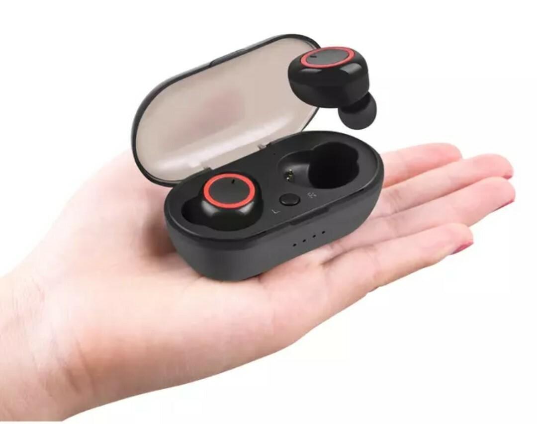 Cell World wireless TWS Bluetooth 5-0 earphone stereo earbud