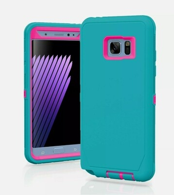 Samsung Galaxy S7  Case Cover Shockproof Hybrid Hard Rugged Rubber TPU