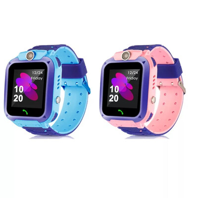 Child Watch Q12 Kids Smart Watch Waterproof SOS Smartphone LBS Multi-lingual Watch For boys and girls