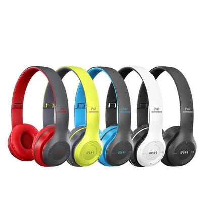 P74 Bluetooth headphones with mic