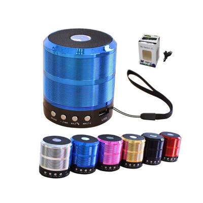Ws 887 Bluetooth speaker with mic