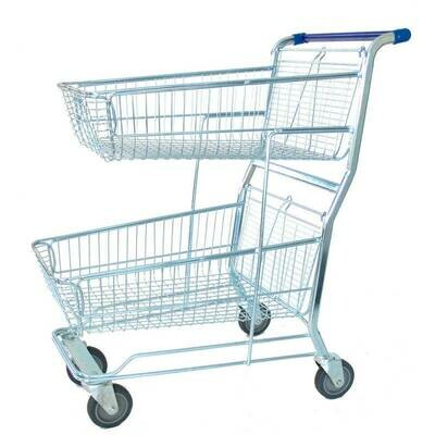 SHOPPING TROLLEY S/SHOPPER - 2 T MINI RED